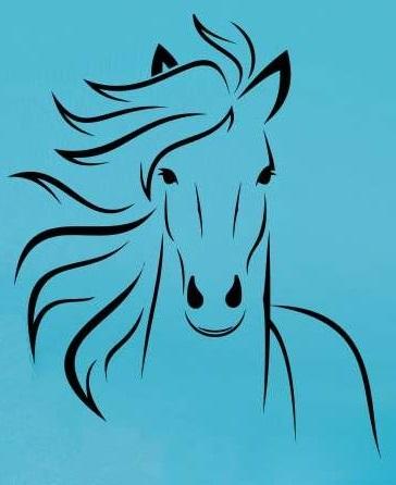 Hlava koně - dekorace na stěnu