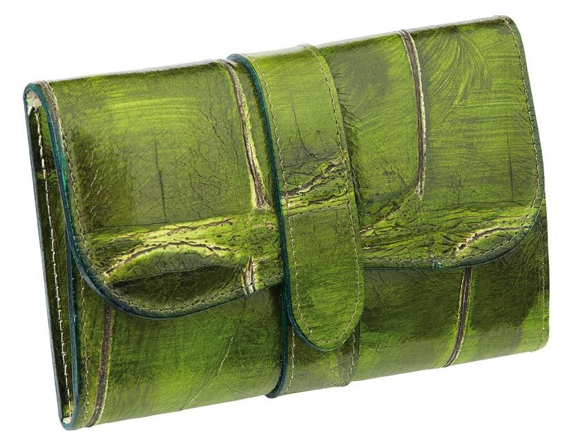 Kožená manikúrní sada Solingen Ambassador 9373 Jungle / zelená