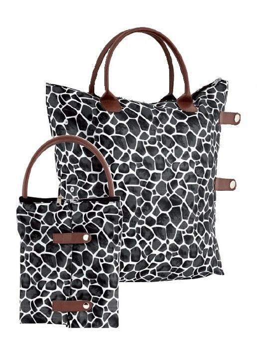 Skládací taška Ambassador Giraffe černá