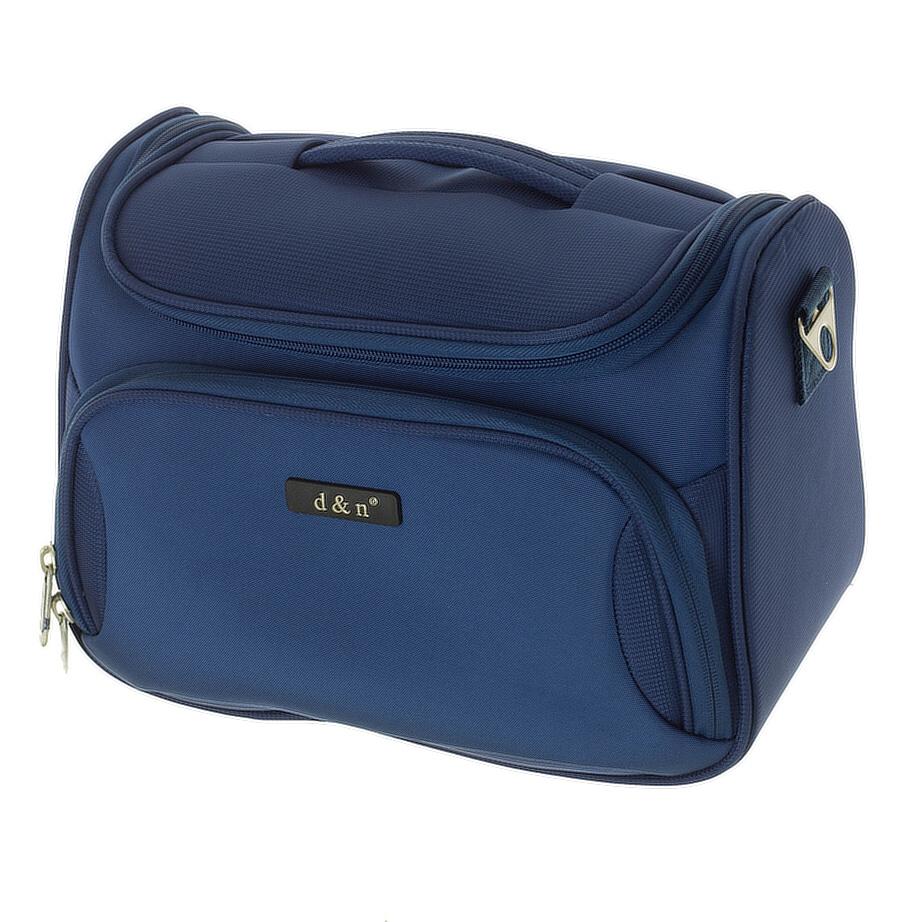 Kosmetický kufr d&n 6430-06 modrý