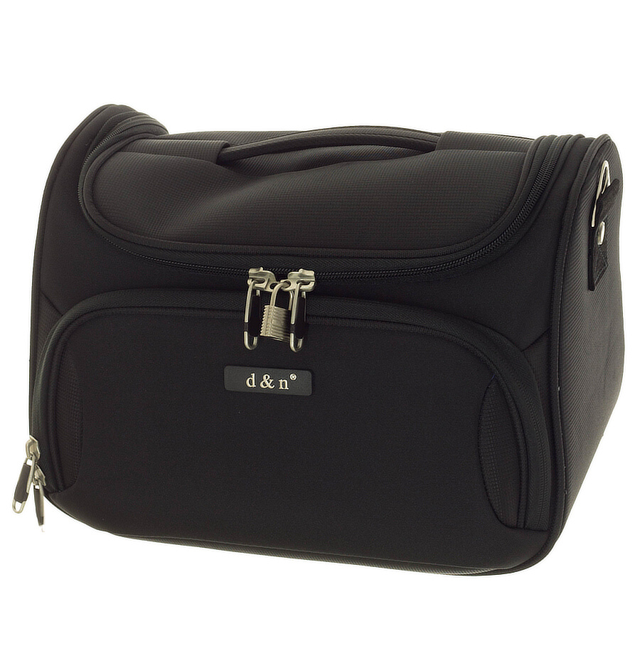 Kosmetický kufr d&n 6430-11 černý