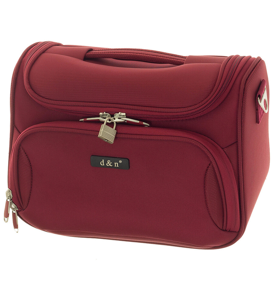 Kosmetický kufr d&n 6430-12 červený