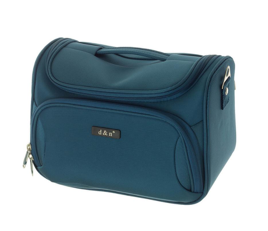Kosmetický kufr d&n 6430-16 petrolejový