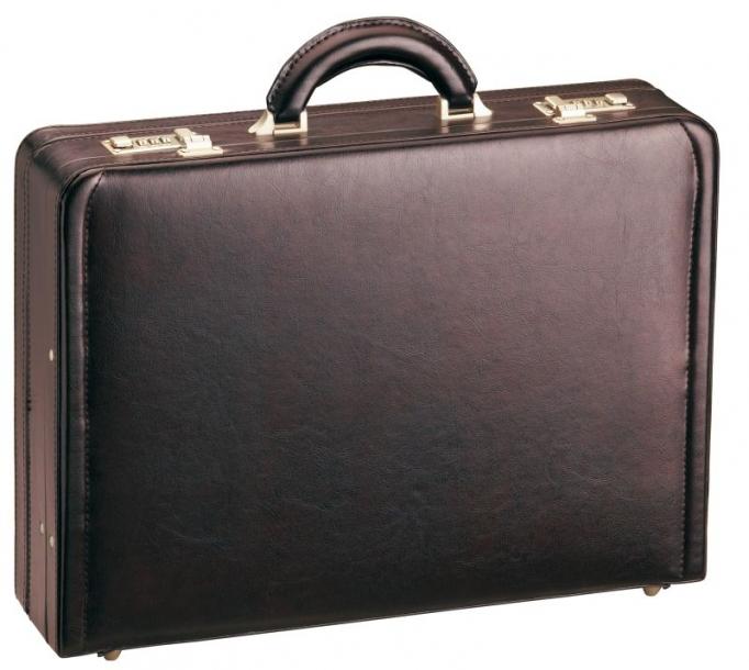 Atache kufr d&n 2663-02 tmavě vínová