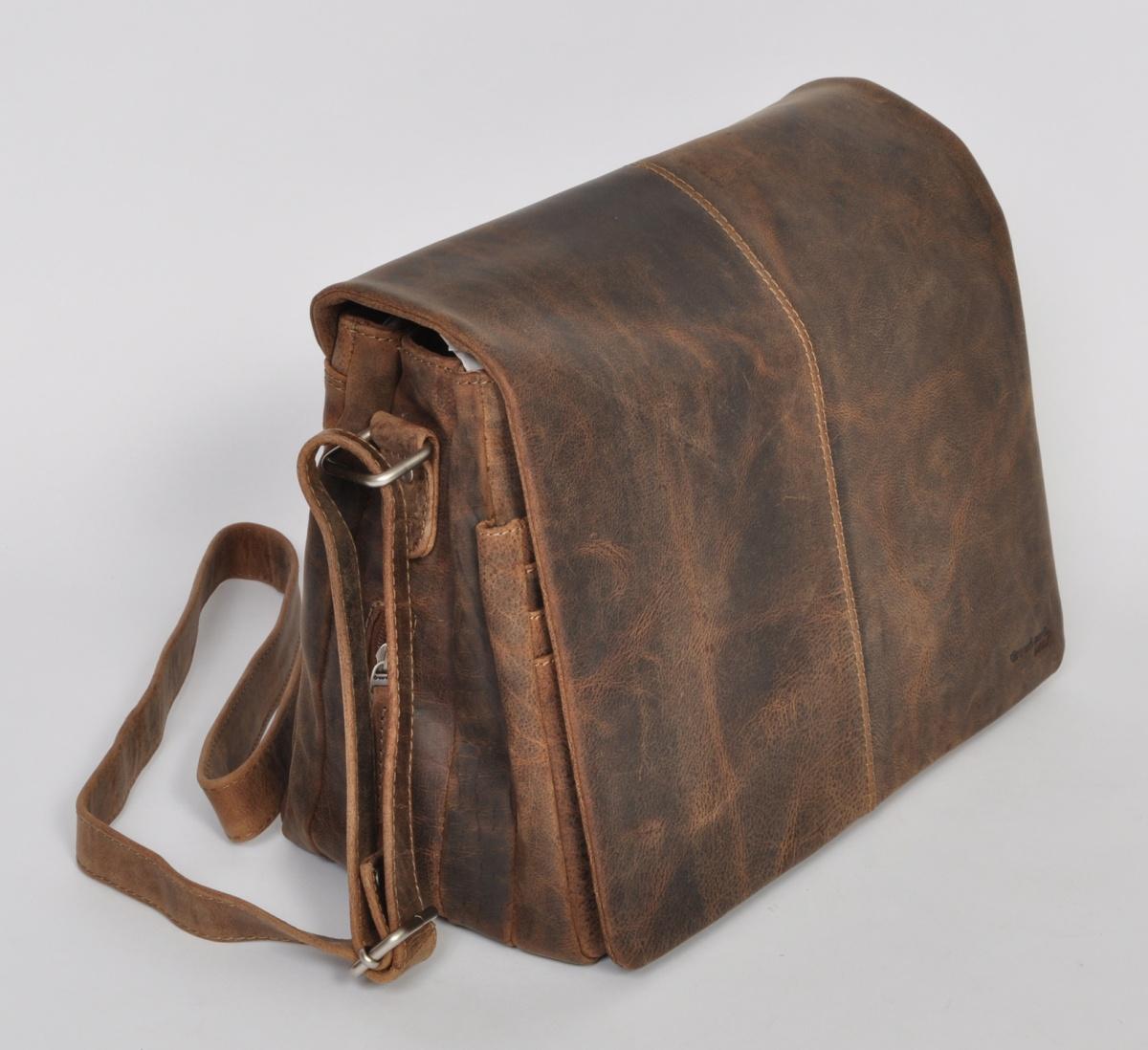 Kožená taška přes rameno GreenLand 2109-28