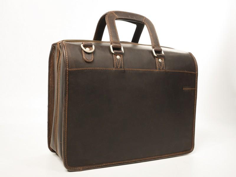 Kožená taška Greenland WestCoast Traveller 864-25