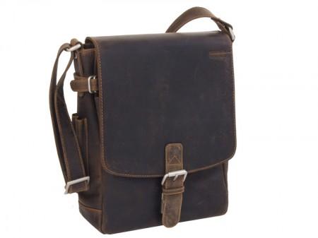 Kožená taška přes rameno GreenLand 861-25
