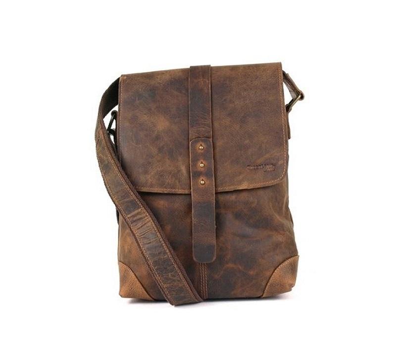 Kožená taška přes rameno GreenLand 2521-25