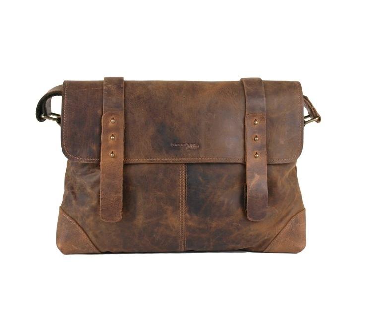 Kožená taška přes rameno GreenLand 2520-25