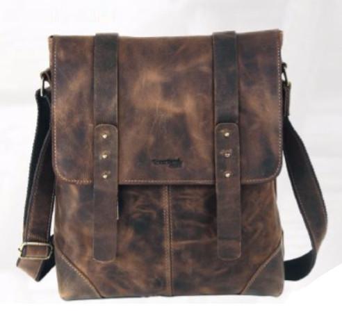 Kožená taška přes rameno GreenLand NATURE 2516-25