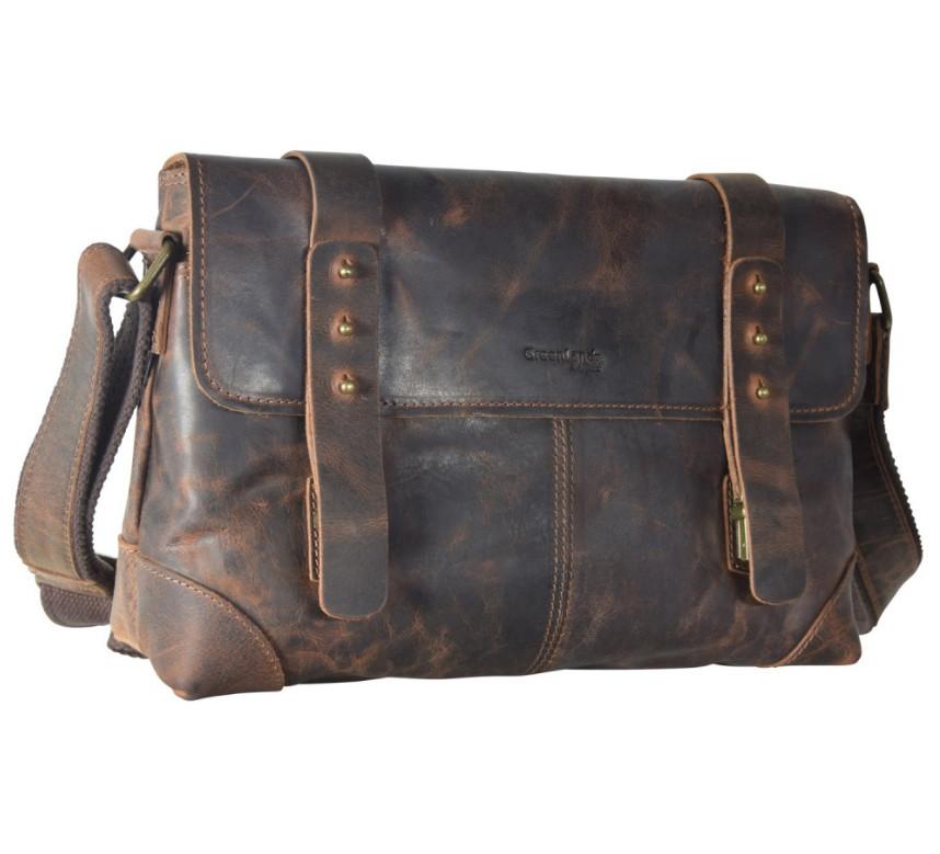 Kožená taška přes rameno GreenLand 2517-25