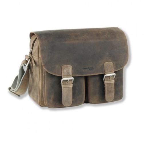 Kožená taška na rameno GreenLand Stone 2121