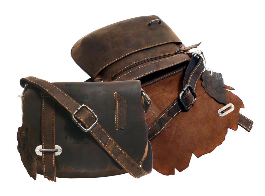 Kožená taška LandLeder Brenda 255