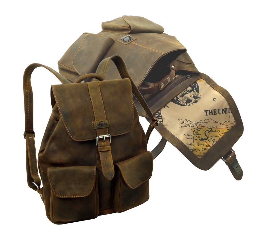 Kožený batoh LandLeder 1015-25