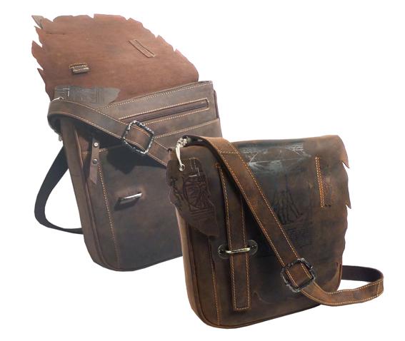 Kožená taška přes rameno LandLeder Cees 257