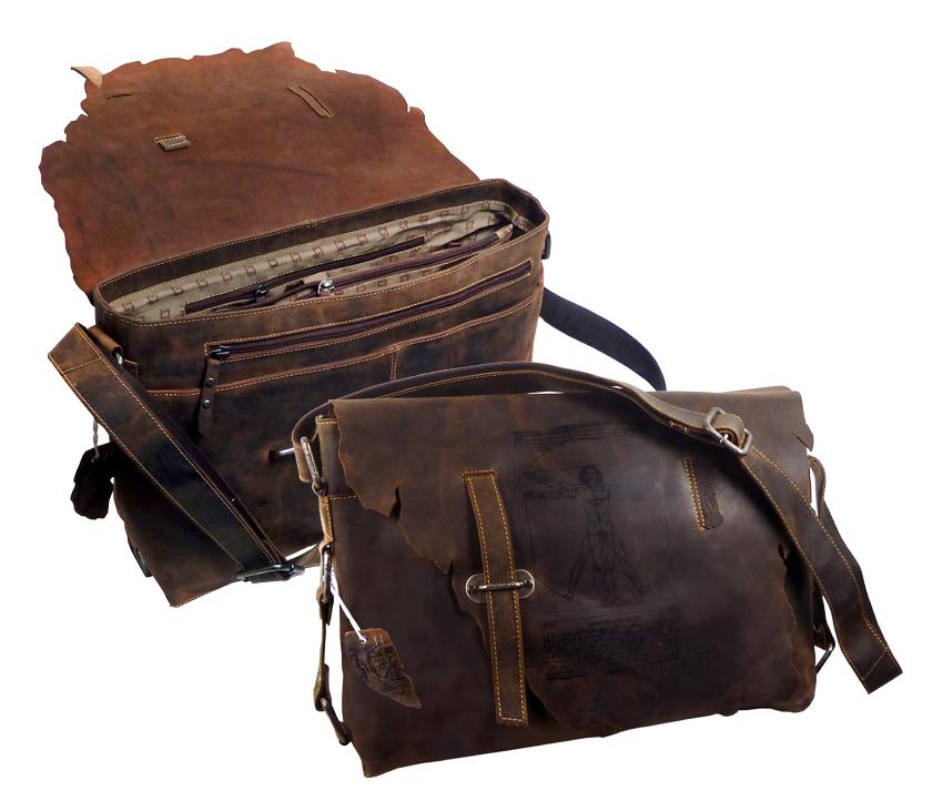 Kožená taška přes rameno LandLeder Joel