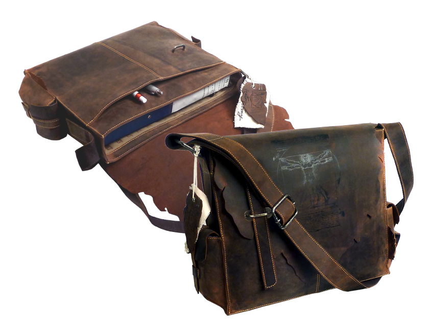 Kožená taška přes rameno LandLeder Jose