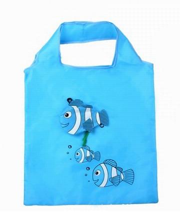 Nákupní taška Tropical fish modrá