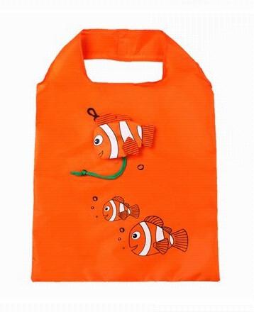 Nákupní taška Tropical fish oranžová