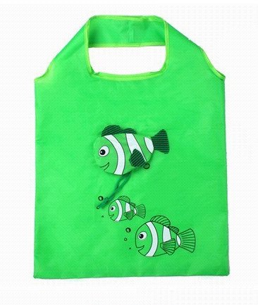 Nákupní taška Tropical fish zelená