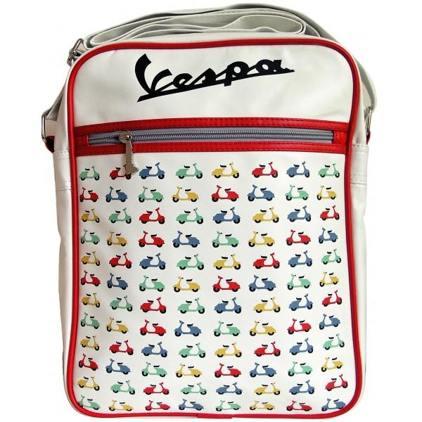 Vespa 029 - Scooters Bílá - Retro taška