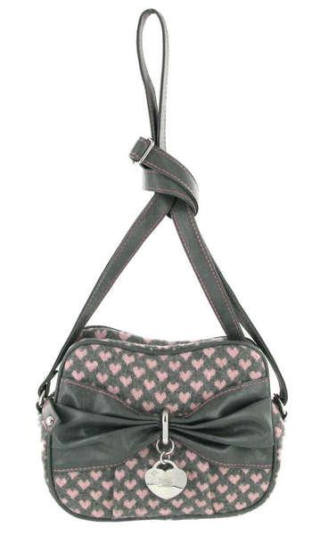 Taška přes rameno Storm Parker Grey Pink