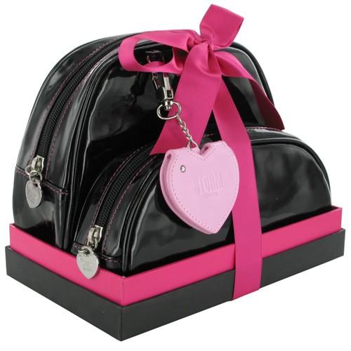 Kosmetická etuje Storm Royal Pink Black