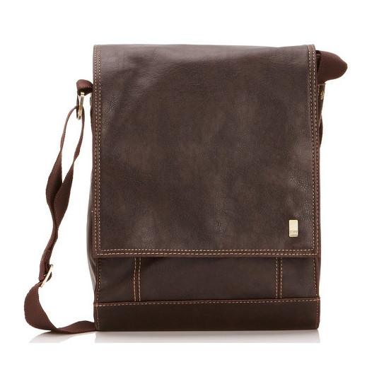Storm Kingswood mini despatch bag Brown taška