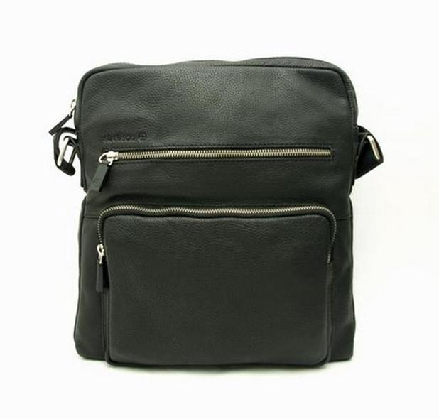 Pánská kožená taška s kapsami Strellson 12107