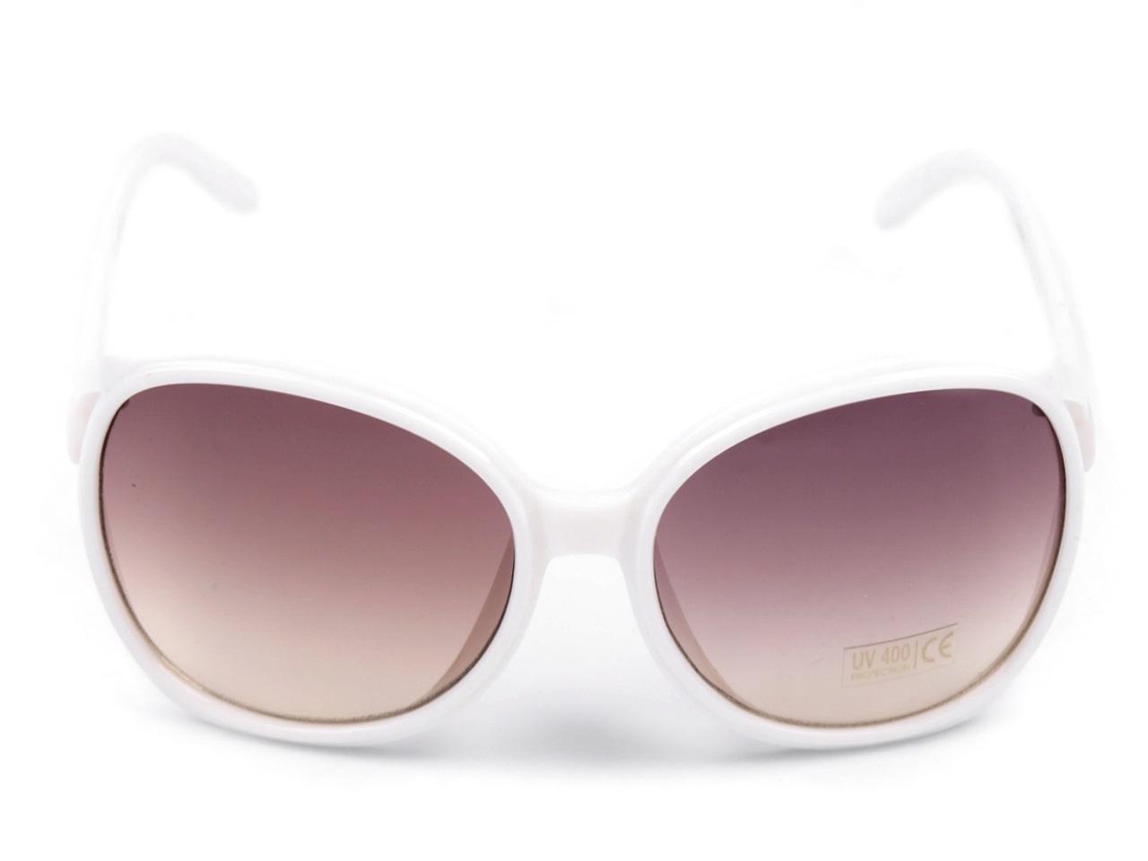 Sluneční brýle dámské 080778 bílá