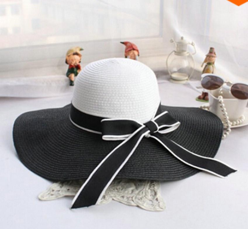 Dámský klobouk Miranda černo-bílý