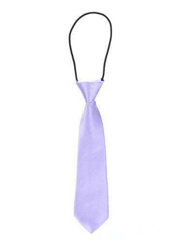 Dětská kravata světle fialová