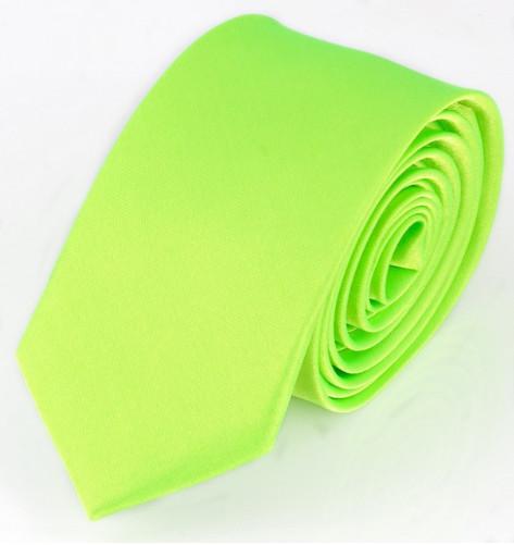 Zelená kravata jednobarevná
