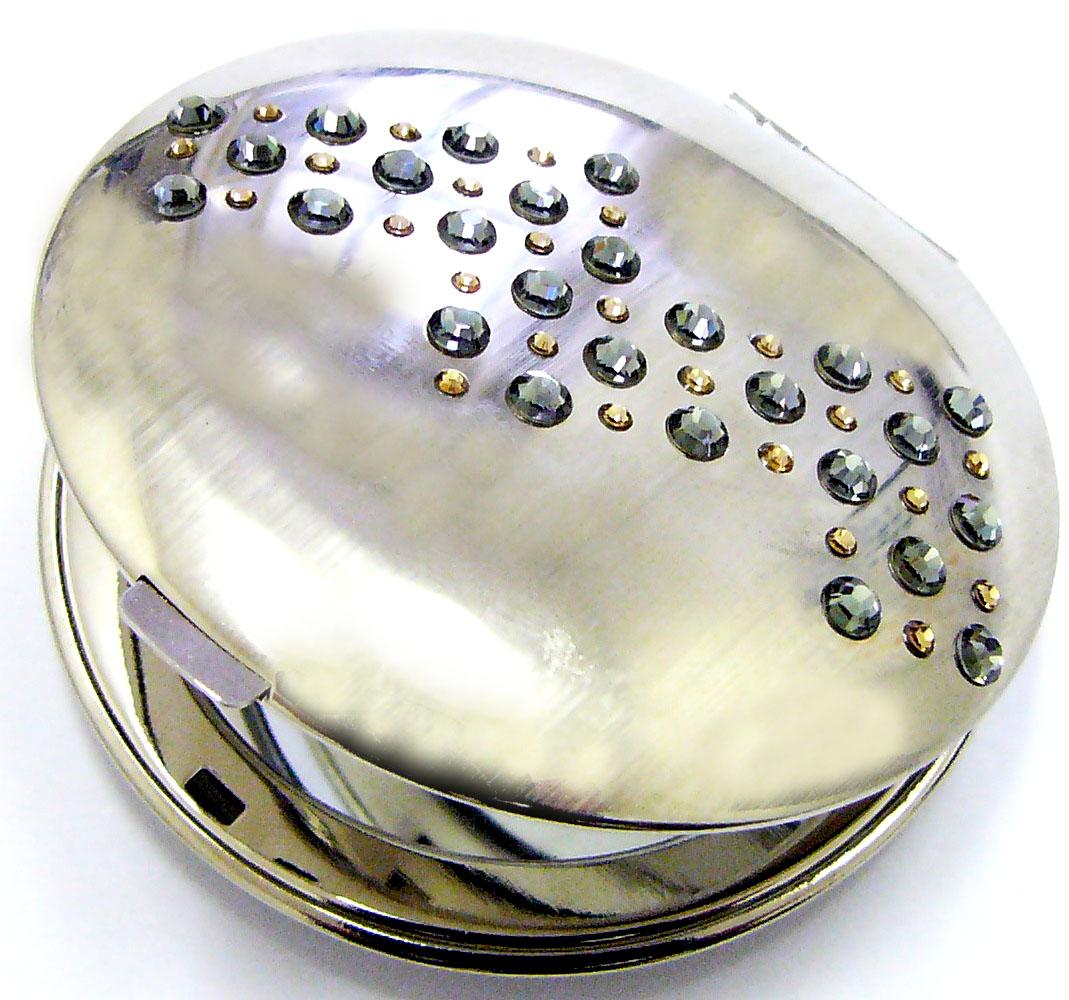 Kosmetické kapesní zrcátko se Swarovski Elements Via Lactea III