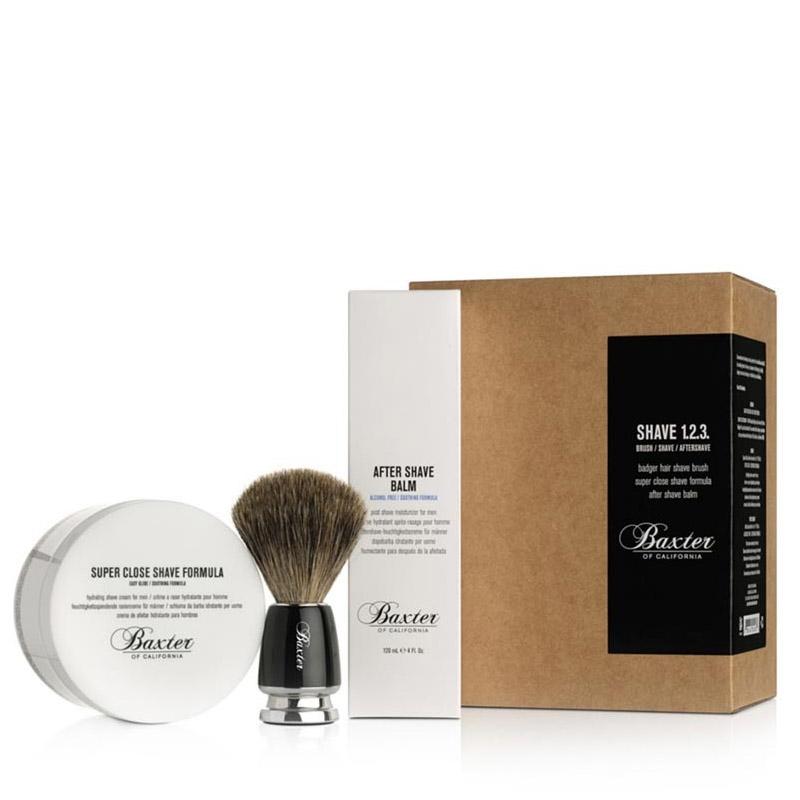 Sada na holení Baxter Shave 1.2.3