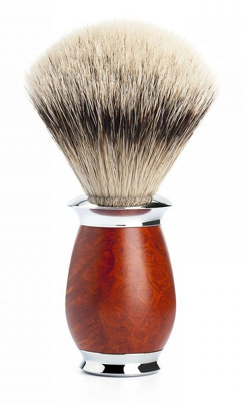Mühle Purist Briar Wood Silvertip Badger