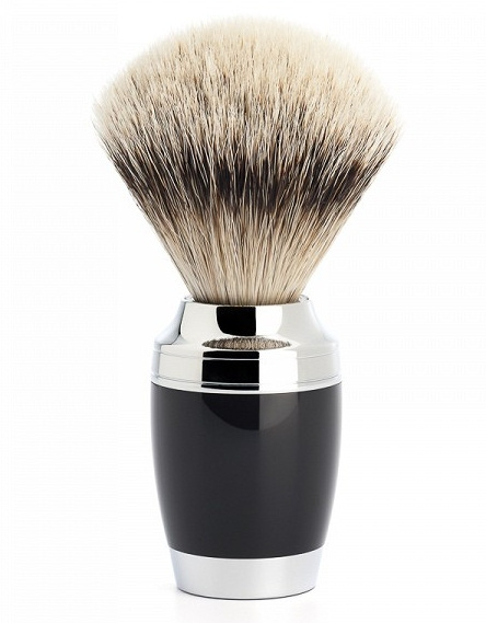 Mühle Stylo Black Silvertip Badger štětka na holení