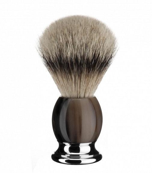Mühle Sophist Buffalo Horn Silvertip štětka na holení