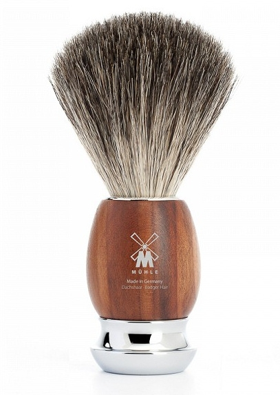 Štětka na holení Mühle Vivo Plum Treewood Pure Badger - 81 H 331