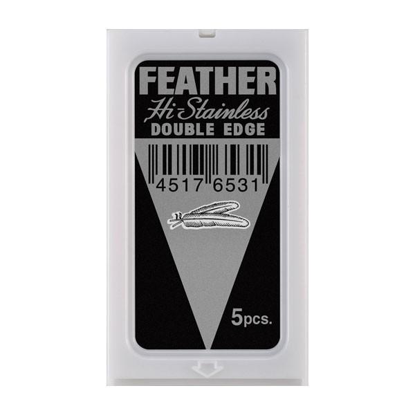 Feather Hi-Stainless žiletky
