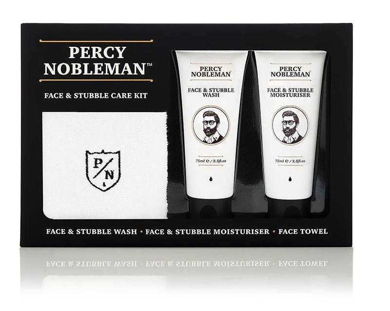 Percy Nobleman Pánská dárková sada péče o pleť a vousy
