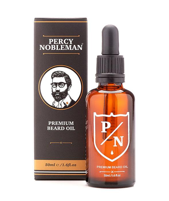 Percy Nobleman Prémiový olej na vousy, 50ml