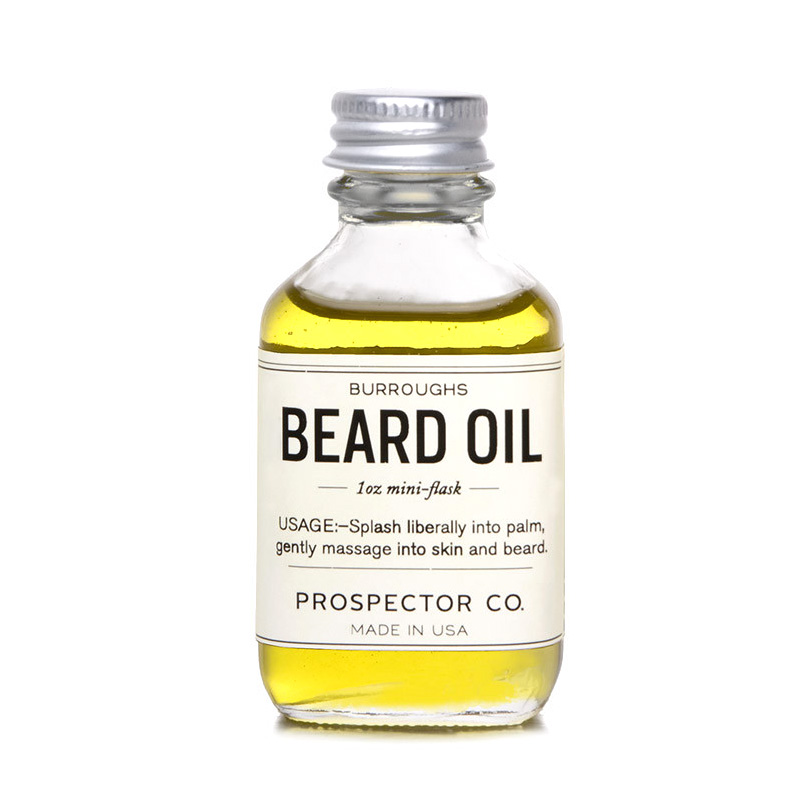 Olej na vousy Prospector Co. Burroughs Beard 30 ml
