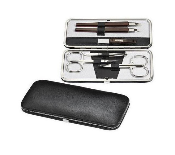 Kožená manikúrní sada - manikúra Solingen Ambassador 8509 Polo
