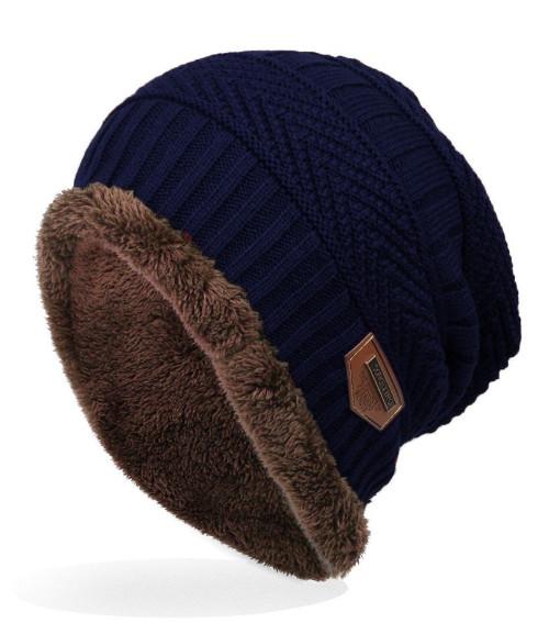 Pánská zimní čepice Song Ting modrá