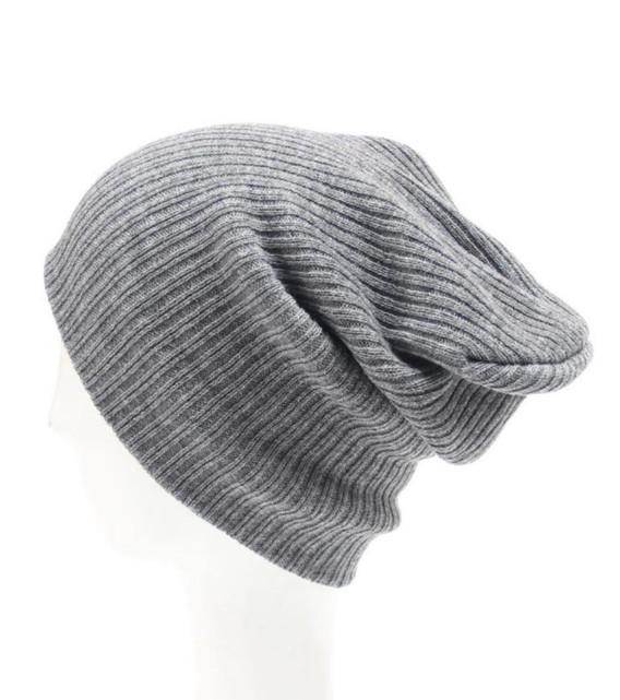 Zimní čepice Miranda šedá