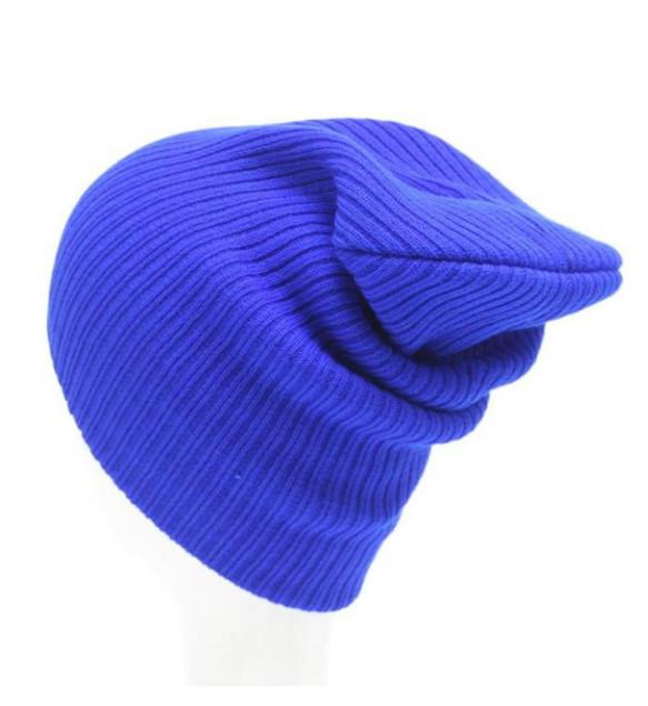 Zimní čepice Miranda modrá