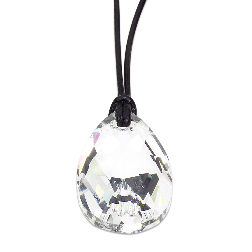 Swarovski PEAR CRYSTAL 28 mm