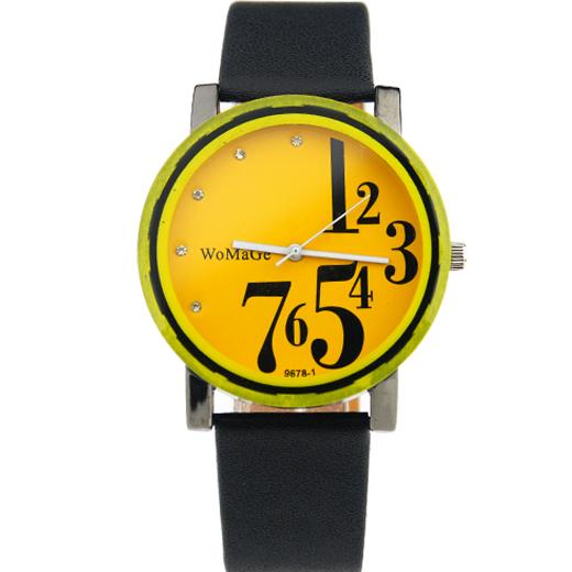 Hodinky WoMaGe - žluté