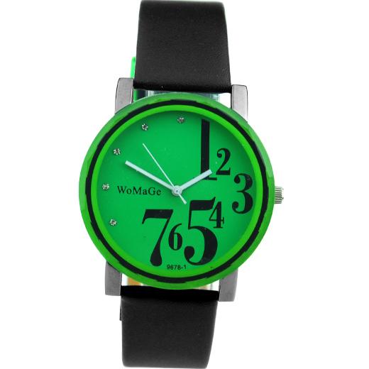 Hodinky WoMaGe - zelené